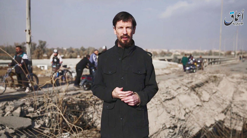 New ISIS video shows Briton John Cantlie alive in Iraq, 4 years after kidnap