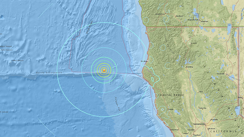 6.5 magnitude earthquake off Northern California