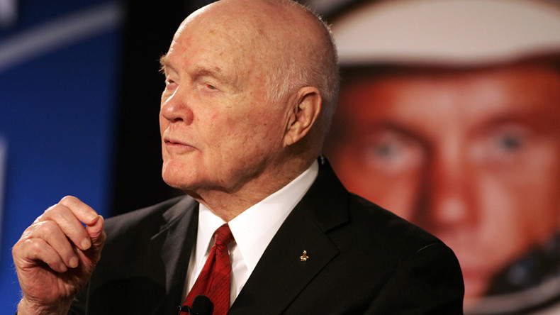 John Glenn, first American in orbit, dies at 95