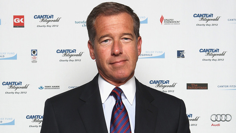 Disgraced ex-NBC 'fake news' journalist Brian Williams on crusade against false reporting
