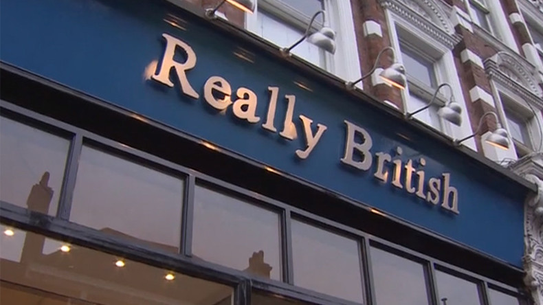 Owner of 'Really British' shop shocked at extreme 'political correctness' of critics