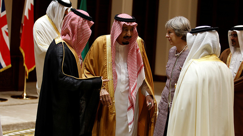 Mayday! UK cozying up to Saudi Arabia, major human rights offender