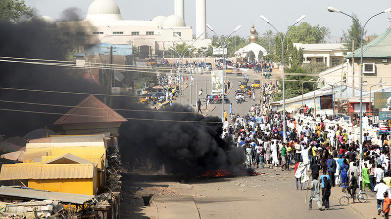 2 girls 'aged 7 or 8' blow themselves up in Nigeria market, injuring at least 17