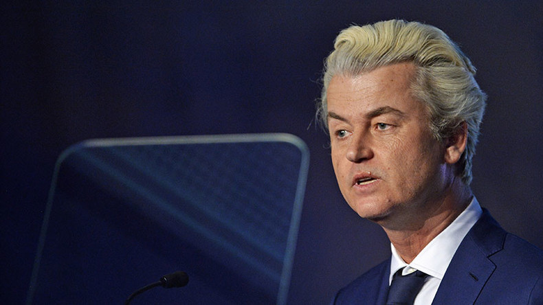 Dutch MP Geert Wilders' far-right party rising despite his discrimination conviction – poll