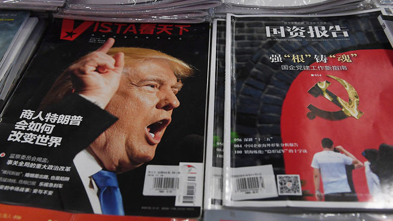 Chinese state media says 'inexperienced Trump subject to hawkish advisers' regarding Beijing