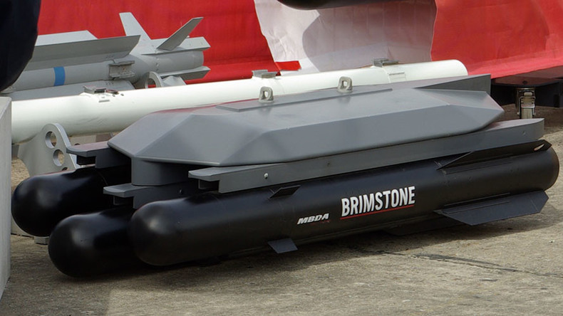 Drones to be equipped with Britain's much-vaunted, barely used, Brimstone missiles