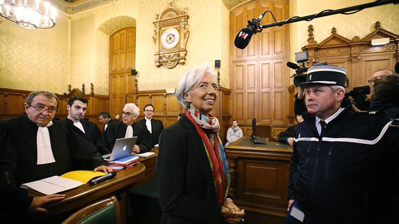 IMF chief Lagarde goes on trial in Paris on negligence charges