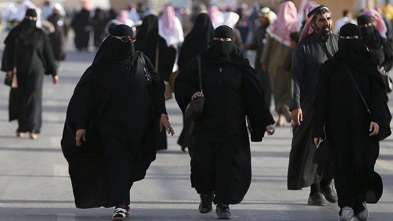 Saudi woman arrested for going out without traditional Muslim clothing – reports