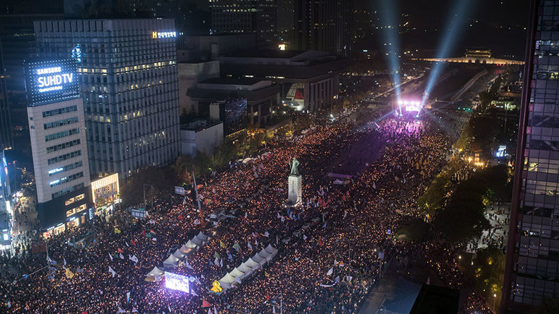 Absolut Vodka uses S. Korea's impeachment protests for their ad