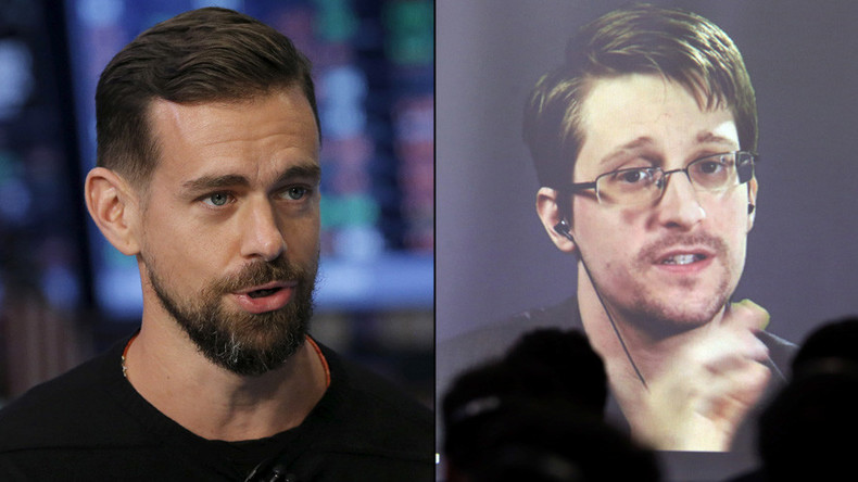 Snowden-Dorsey interview: Periscope chat for whistleblower & Twitter CEO (VIDEO)