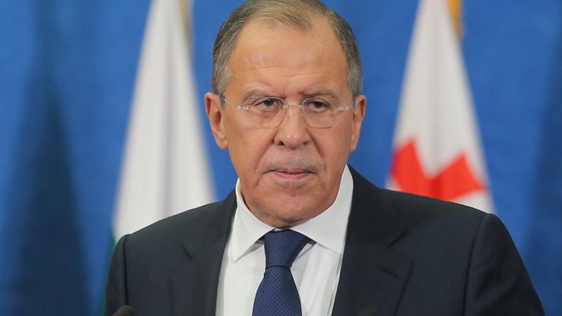 Russian FM Lavrov laments US inaction in Aleppo