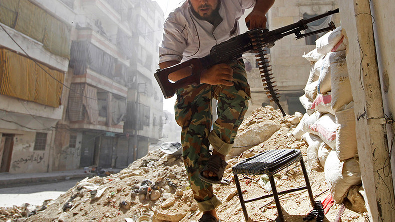 Russian 'shelling, execution' videos in Aleppo faked by militants – MoD