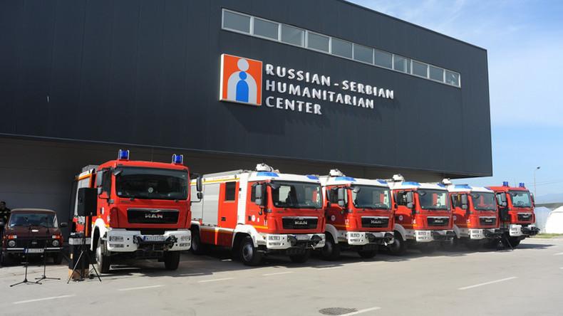 EU demands Serbia close Russian-Serbian Humanitarian Center – Lavrov