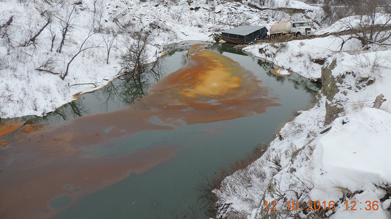 5.4 miles of creek polluted by North Dakota oil pipeline spill