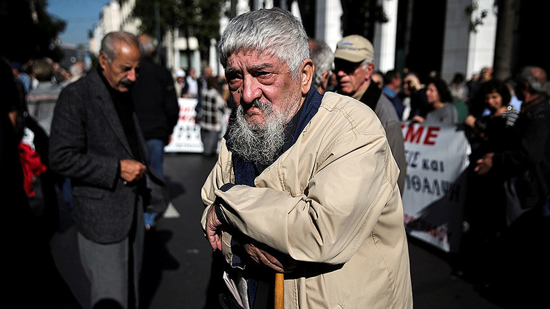 Eurozone suspends Greek debt relief over Christmas bonus for pensioners