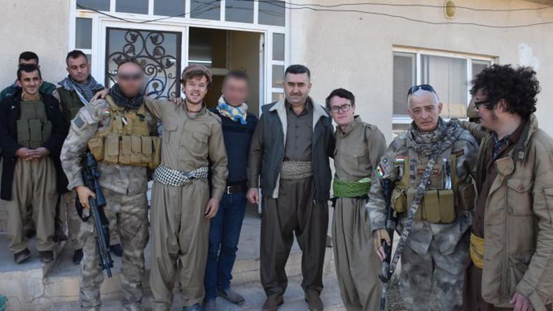 Night of hijinks ends with Irish backpackers on Iraqi frontline (PHOTOS)