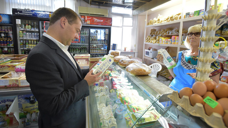 Medvedev says EU food embargo remains in response to anti-Russian sanctions