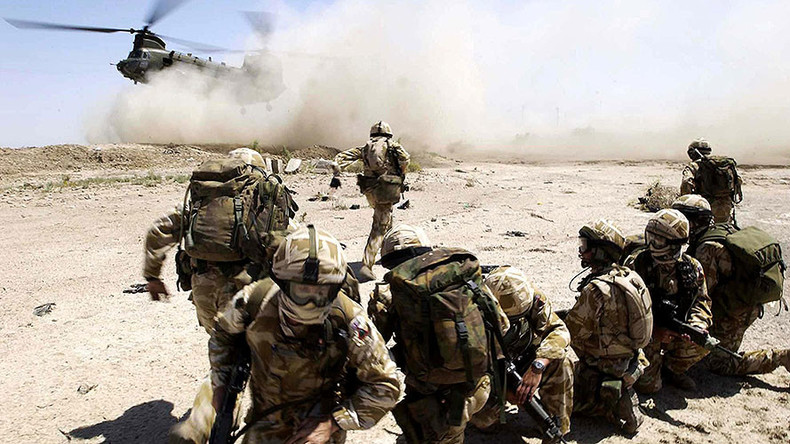 British military specialists arrive in Middle East to train Syrian rebels