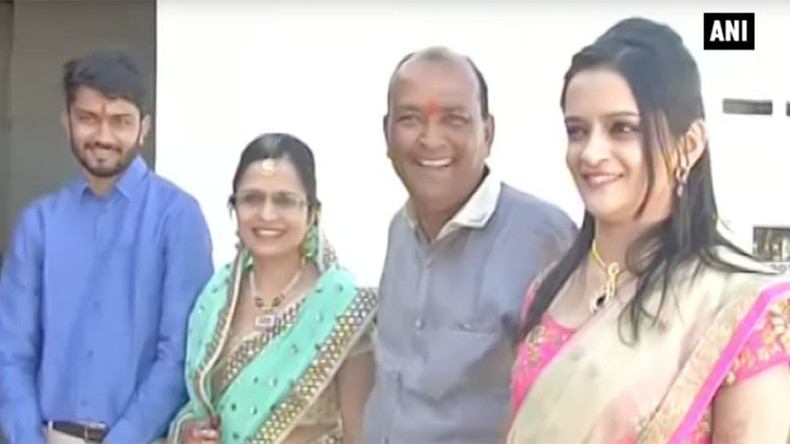 Indian tycoon builds 90 homes for homeless to celebrate daughter's wedding