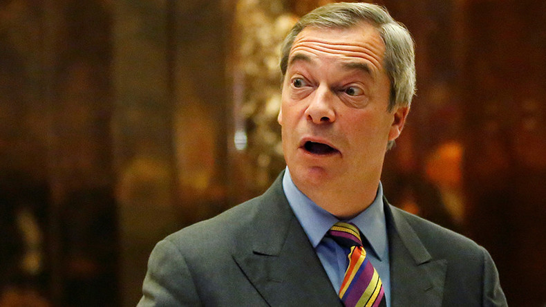Farage undermines PM Theresa May again with 3rd Donald Trump meeting