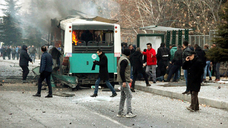 Bus blast in Turkey kills 13, wounds 55 – military