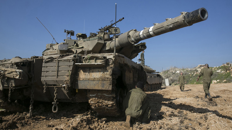 Israeli tanks fire into Gaza in response to alleged cross-border gunfire