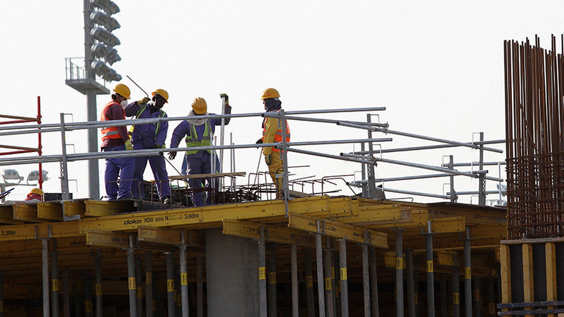 Micro-climate hardhats to protect World Cup 2022 builders slaving away in Qatari sun