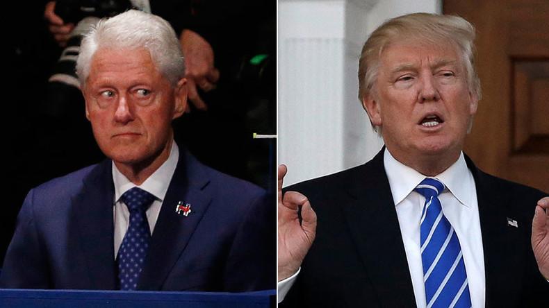Trump: Bill Clinton 'doesn't know much,' ran failed campaign