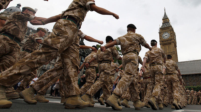 Tory govt could use soldiers to break rail strikes
