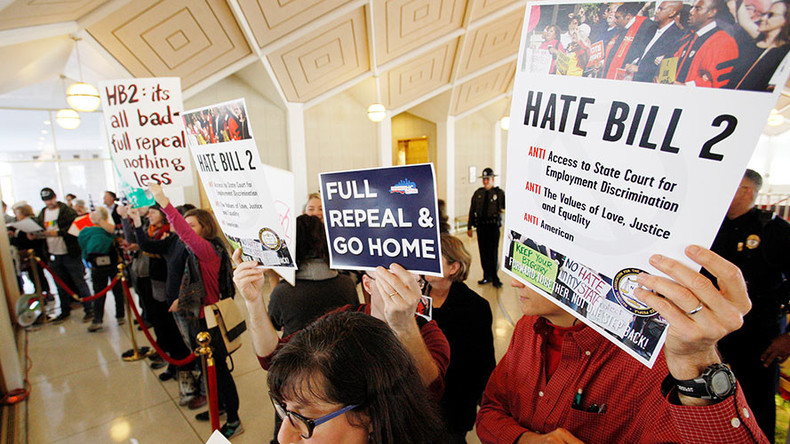 North Carolinians irked that 'bathroom bill' not repealed in House special session
