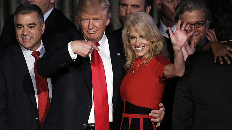 History-maker Kellyanne Conway lands senior role in Trump White House