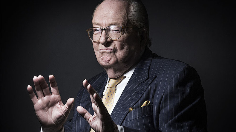 'Homosexuals are like salt in soup,' says National Front founder Jean-Marie Le Pen