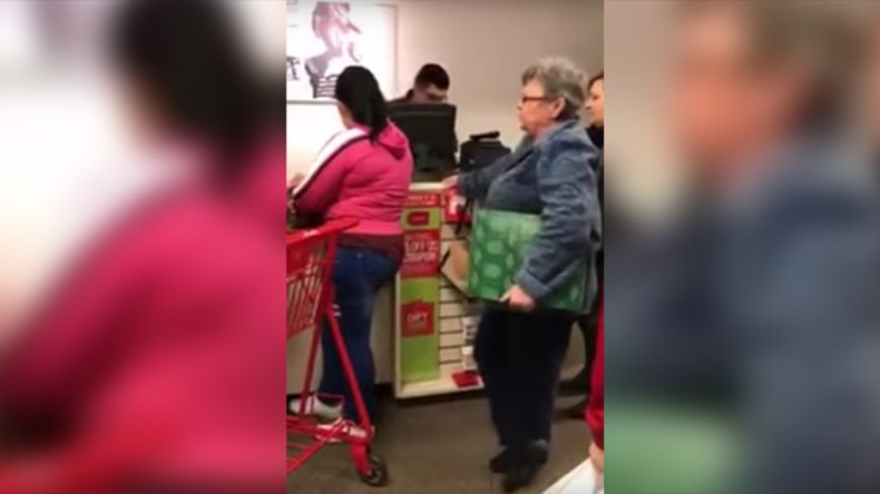 Mall bans woman after her racist rant goes viral (VIDEO)