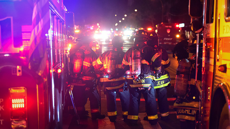 24 hurt in NYC high-rise fire (PHOTOS)