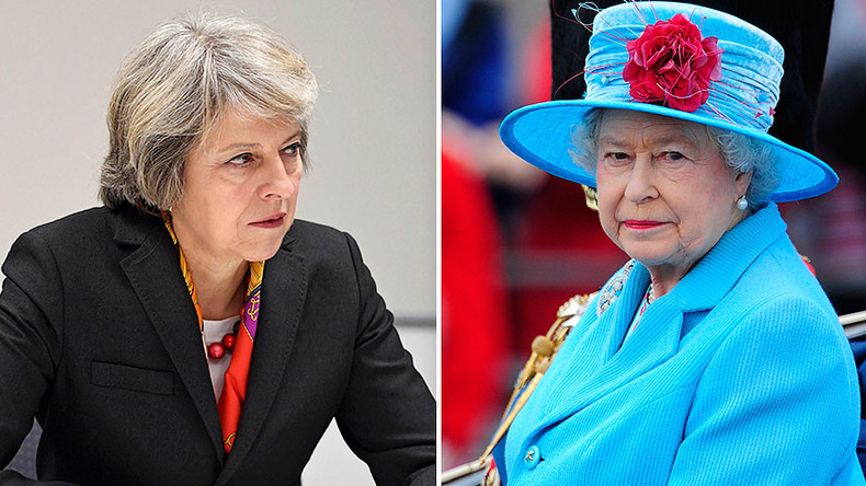 Not amused: Queen 'disappointed' May won't spill Brexit secrets