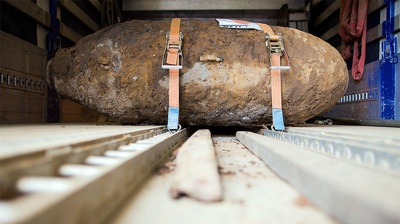 British Xmas gift? Germany to see its biggest evacuation due to huge WWII bomb