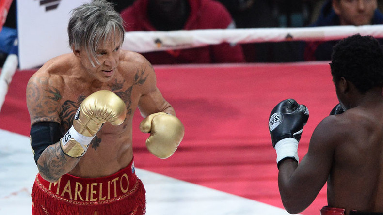 Movie star Mickey Rourke, 64, could box in Russian Urals in 2017