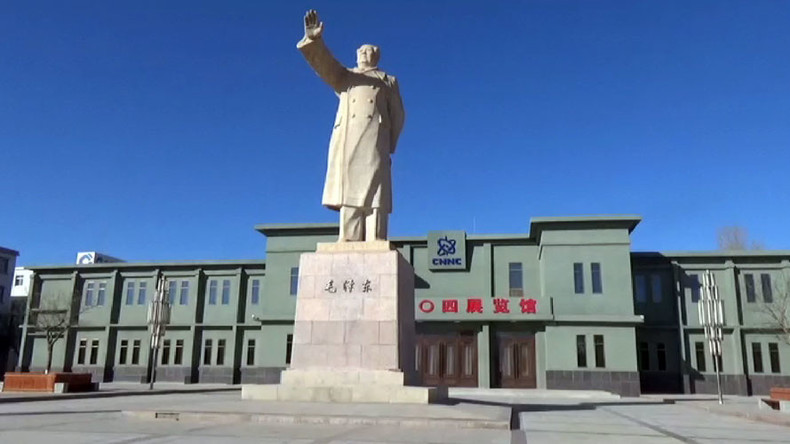 404: China's abandoned desert city built to develop Cold War nukes (VIDEO)