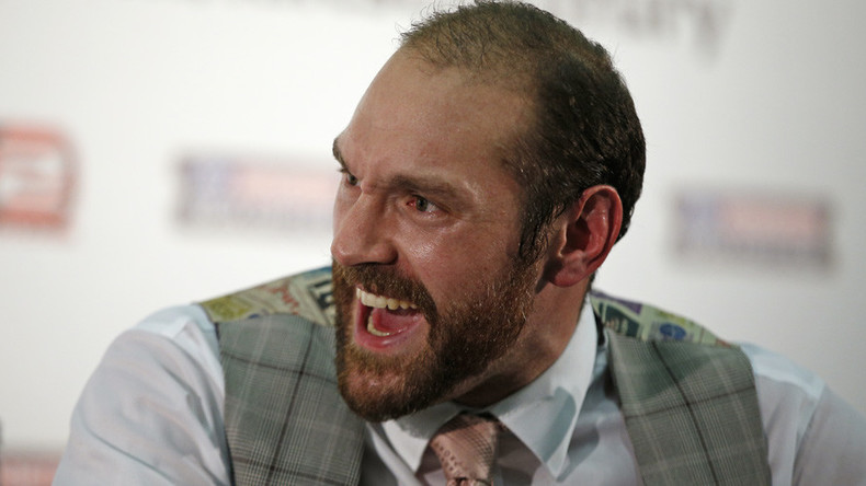 'I'll take over 2017': Troubled heavyweight boxer Fury issues New Year's resolution