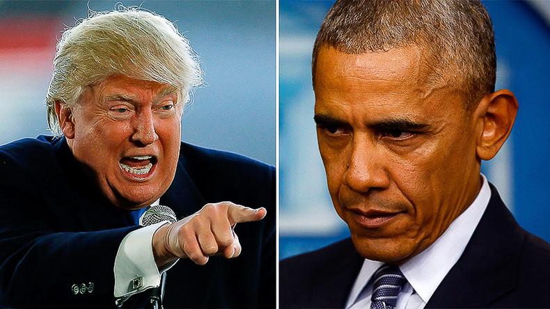So long smooth transition? Trump slams Obama for inflammatory statements, roadblocks