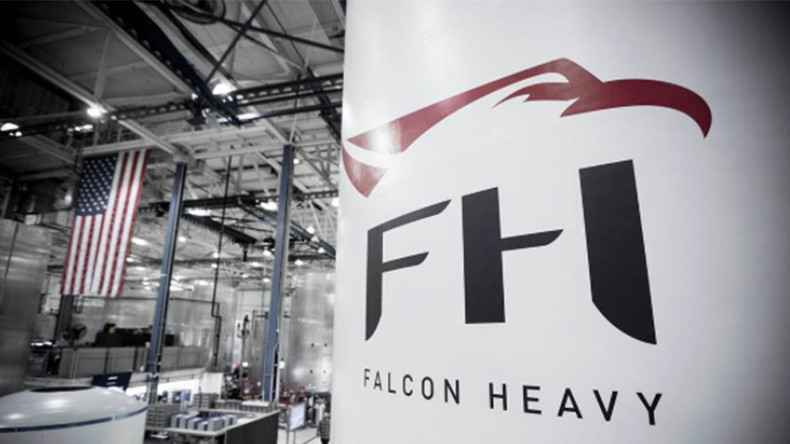 Falcon Heavy: SpaceX teases with photo of 'world's most powerful rocket' ahead of 2017 launch