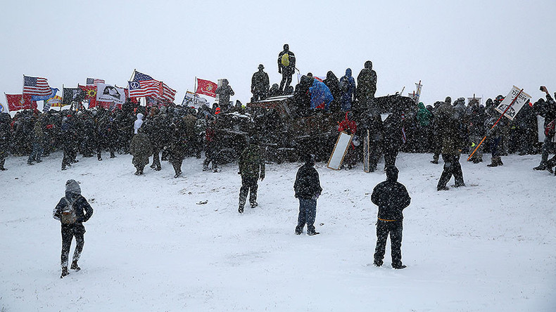 DAPL war rages on: 'Water protectors' arrested as protests continue