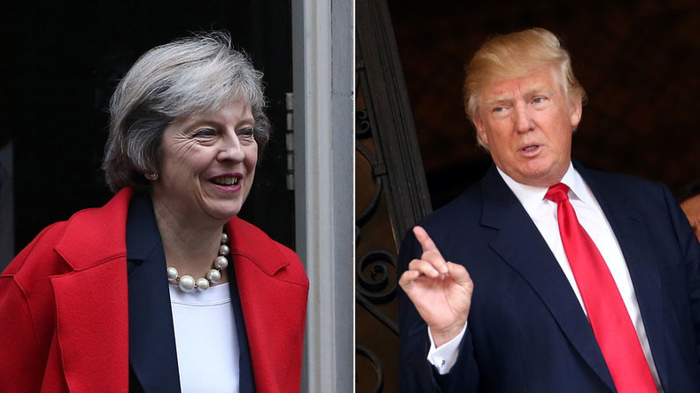 Theresa May attacks John Kerry's Israel speech in bid to please Trump team