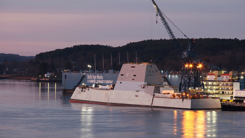 US Navy ditching million-dollar ammo for stealth destroyer - report