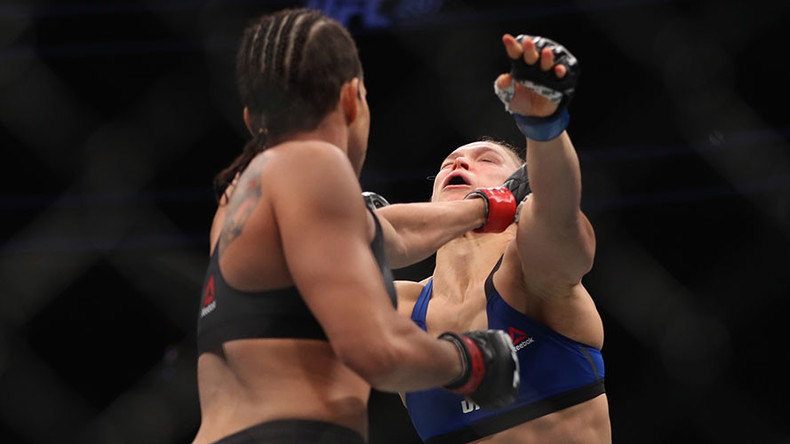 Rousey TKO'd by Nunes in stunning fashion at UFC 207
