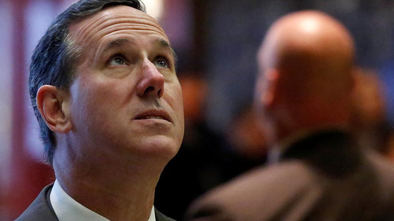 Rick Santorum 'unconvinced' Russia behind alleged election hacking