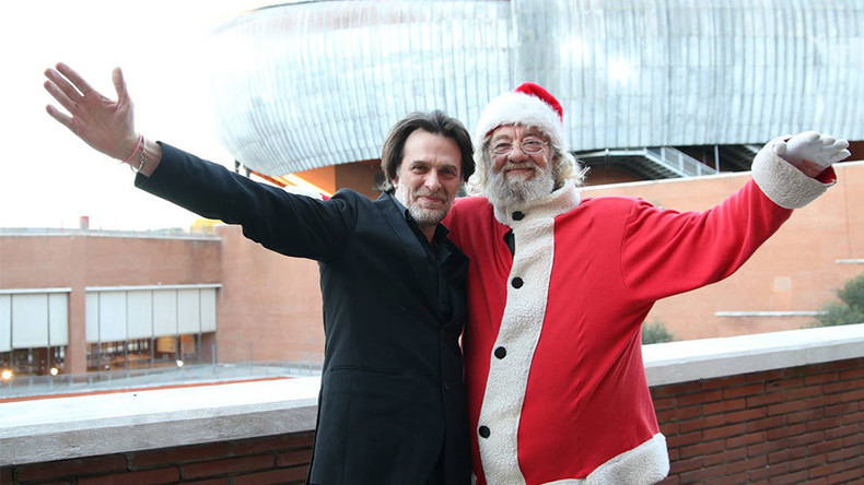 Italian conductor fired for blowing the whistle on Santa Claus