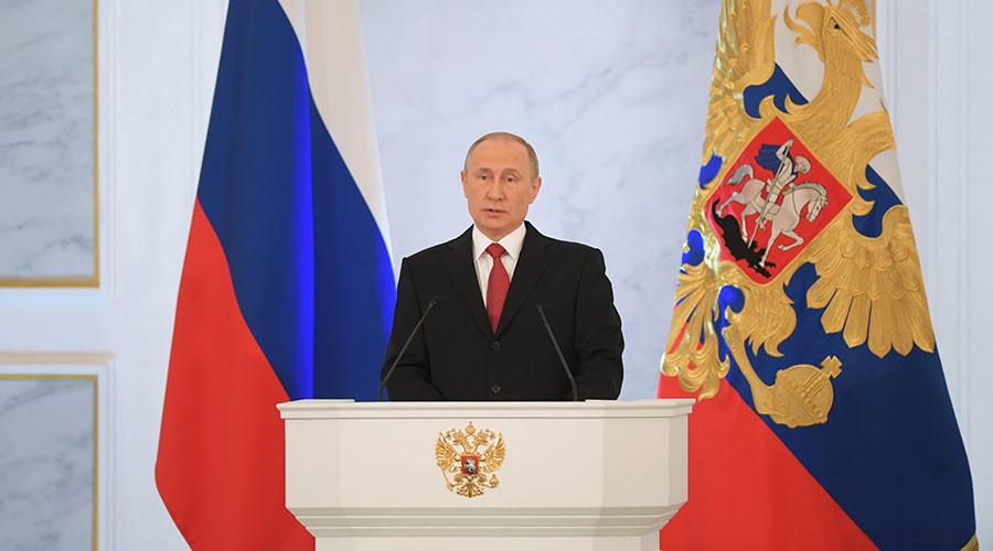 Putin addresses lawmakers in key annual speech