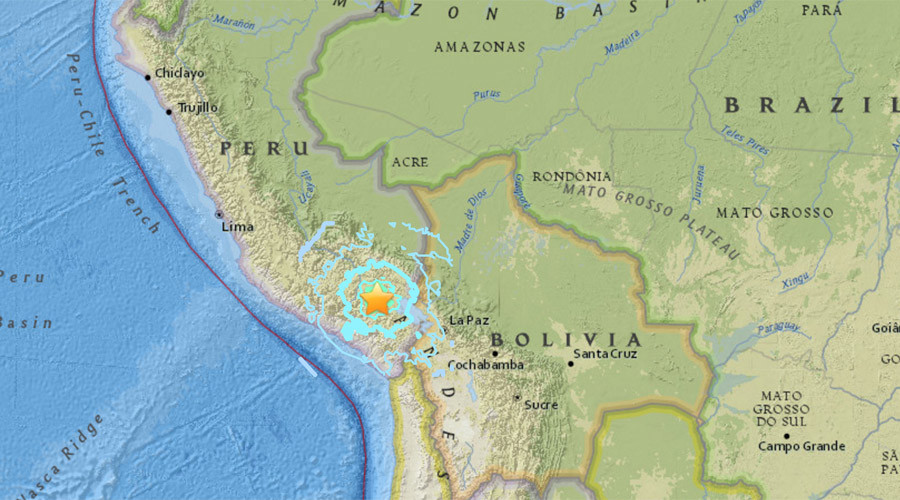 Shallow 6.3-magnitude quake hits Peru