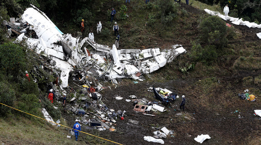 Chapecoense plane crash: Crew of Brazilian team's flight skipped refueling to save time
